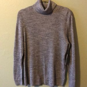 Croft & Barrow grey turtle neck